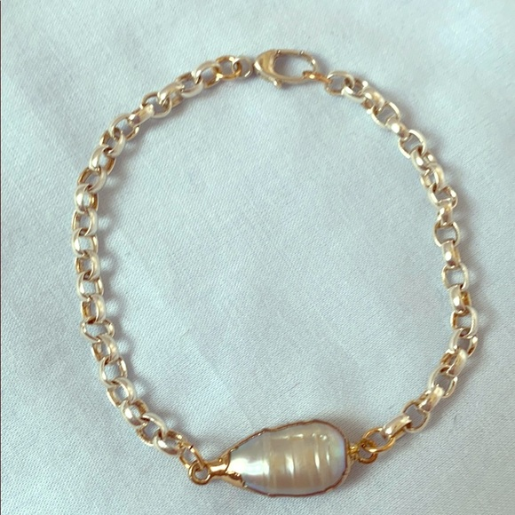 Ore Amare Jewelry - Sterling silver and pearl bracelet
